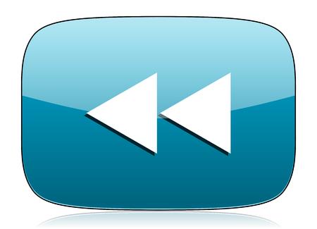 rewind: rewind icon