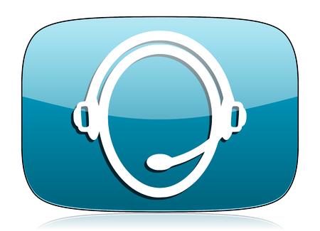 customer: customer service icon Stock Photo