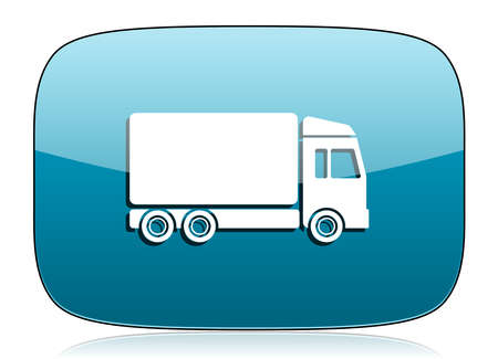 delivery icon truck sign photo