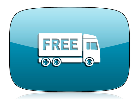 free delivery icon transport sign photo