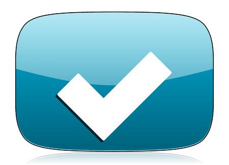 accept: accept icon check sign