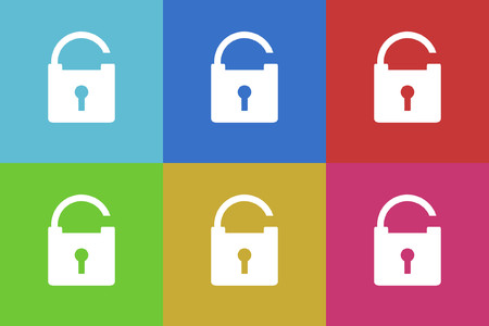 warrants: security vector icons set