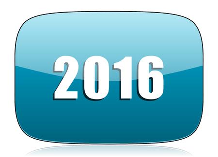 next year: new year 2016 icon new years symbol