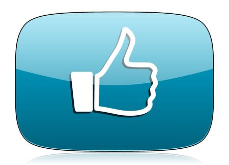 like icon thumb up sign photo