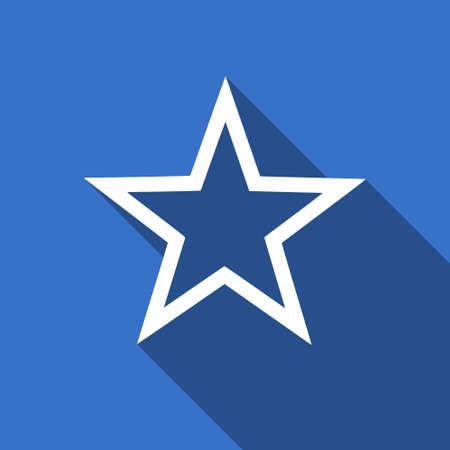 star flat icon photo
