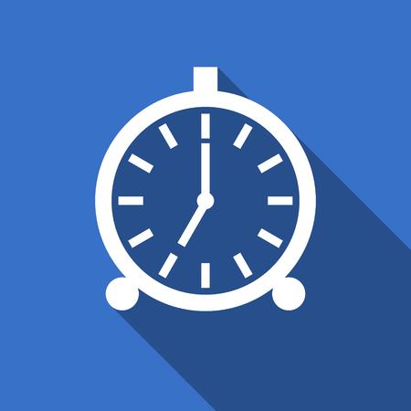 alarm flat icon alarm clock sign photo