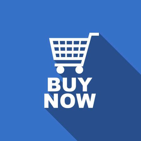 buy now: buy now flat icon