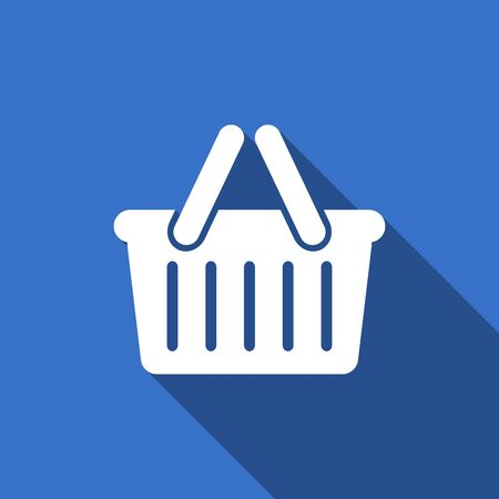 shopping cart icon: cart flat icon shopping cart symbol Stock Photo