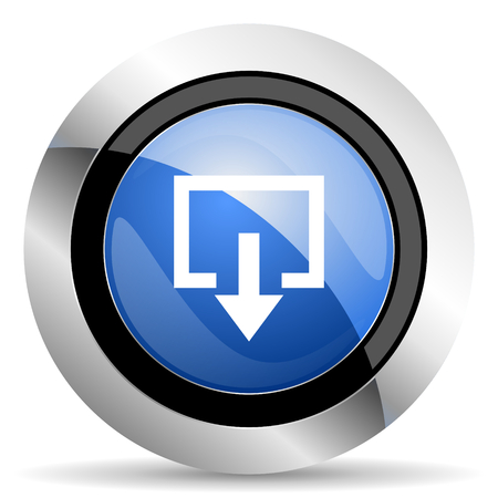 exit: exit icon Stock Photo
