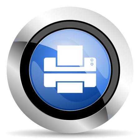 printer icon print sign photo