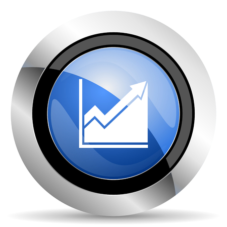 histogram: histogram icon stock sign