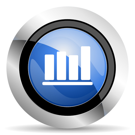 bar chart icon photo