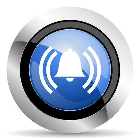 alarm icon alert sign bell symbol photo