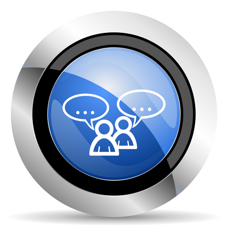 forum icon: forum icon chat symbol bubble sign