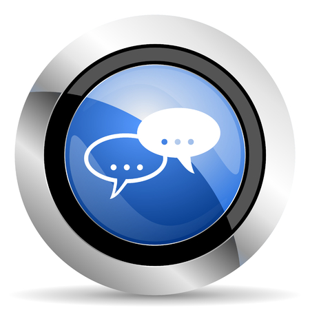 forum icon chat symbol bubble sign photo