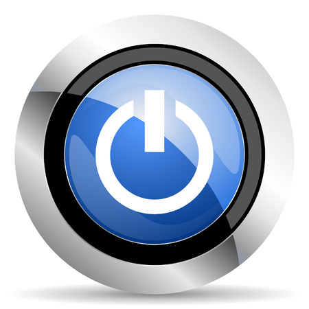 run off: power icon on off sign