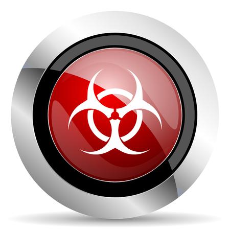 varez: biohazard red glossy web icon