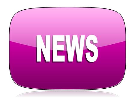 violet icon: news violet icon