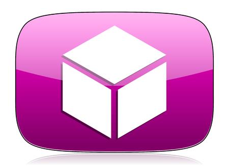 violet icon: box violet icon