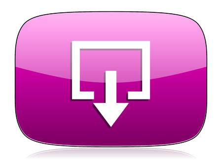 violet icon: exit violet icon