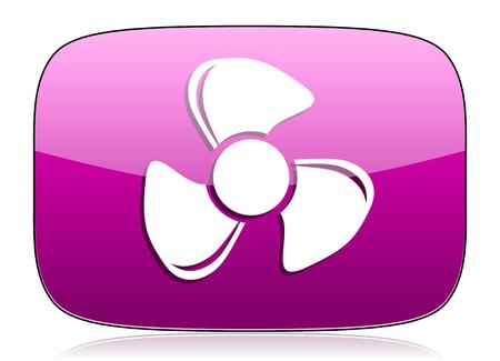 violet icon: fan violet icon