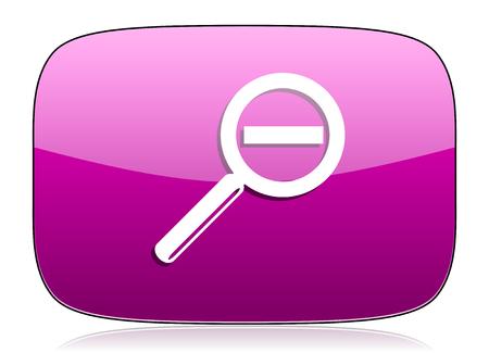 violet icon: lens violet icon