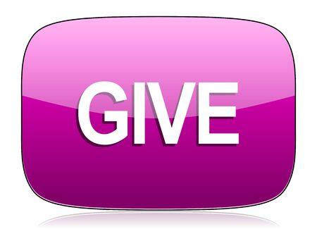 violet icon: give violet icon