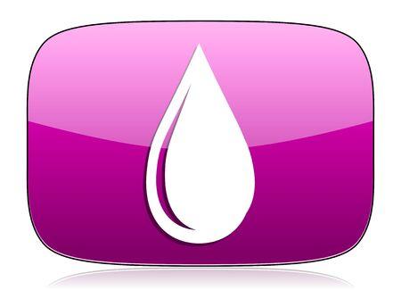 violet icon: water drop violet icon