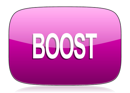 boost: boost violet icon