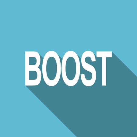 boost: boost flat icon