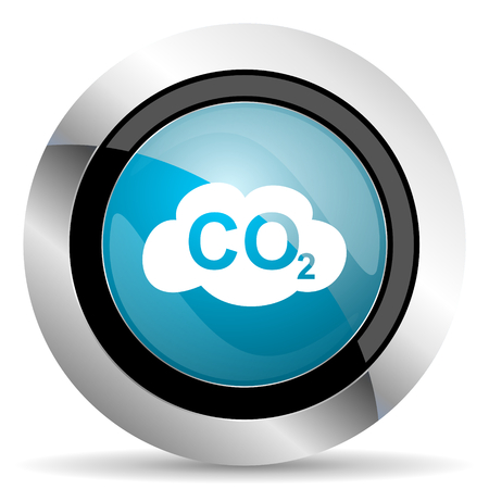 carbon dioxide: carbon dioxide icon co2 sign