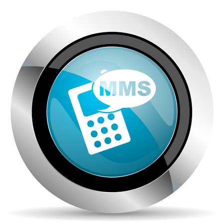 mms: mms icon phone sign