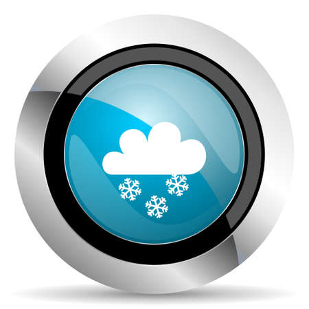 pushbuttons: snowing icon waether forecast sign