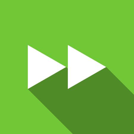 rewind: rewind flat icon Stock Photo