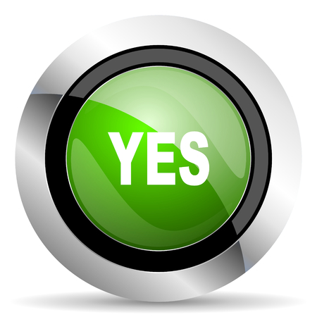 yes icon: yes icon, green button