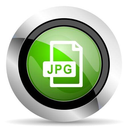 jpg: jpg file icon, green button