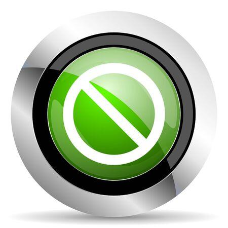 access denied icon: access denied icon, green button
