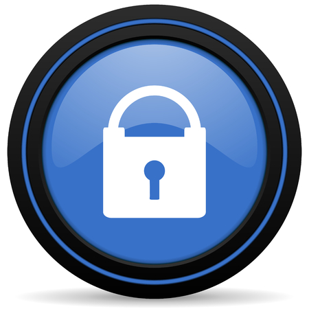 secure: padlock icon secure sign