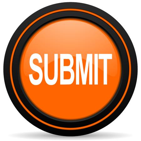 submit: submit orange icon