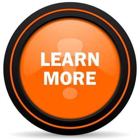 more: learn more orange icon