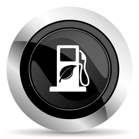 bio fuel: biofuel icon, black chrome button, bio fuel sign