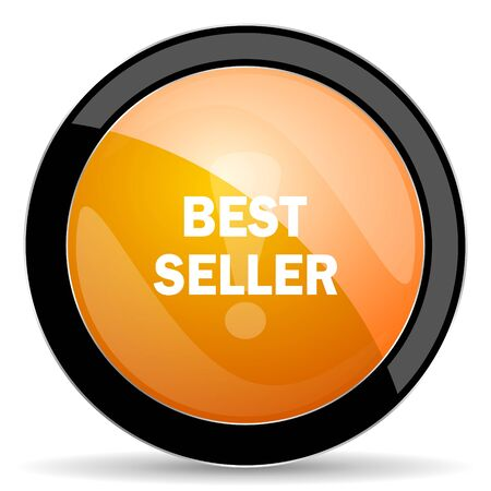 the seller: best seller orange icon