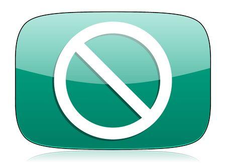 access denied: access denied green icon