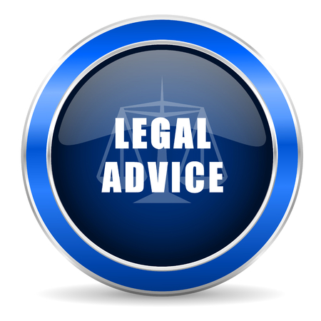 advies: legal advice icon law sign