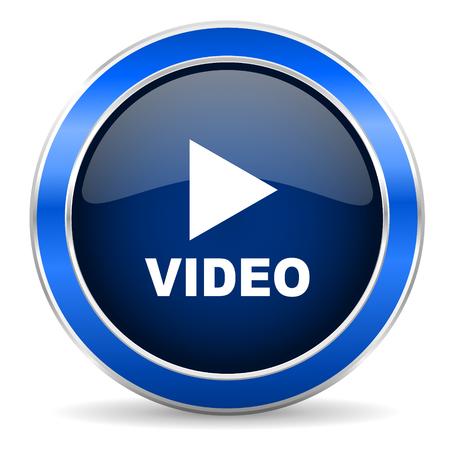 icono de vídeo Foto de archivo