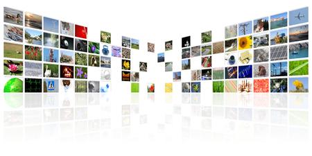 テレビ ニュース メディア インターネット デジタル背景