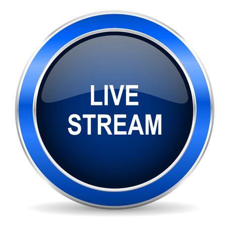 livestream: live stream icon