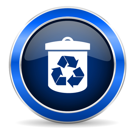 recycling: recycle icon recycling sign Stock Photo