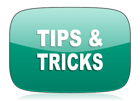 tricks: tips tricks green icon