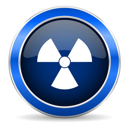gamma radiation: radiation icon atom sign